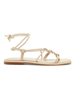 HEREU fermada knotted leather sandals