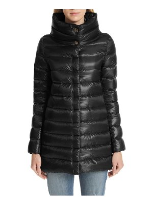 Herno amelia high/low down jacket
