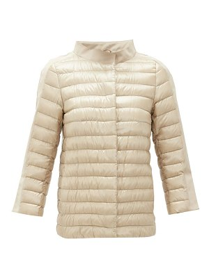 Herno cropped-sleeve padded jacket