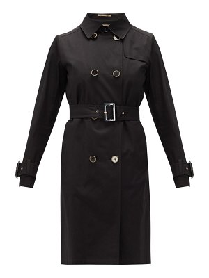 Herno double-breasted cotton-gabardine trench coat