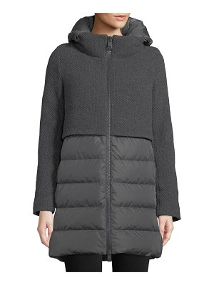 Herno Down-Fill Combo Coat w/ Hood