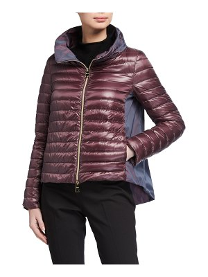 Herno Ladybug Long-Sleeve Puffer Jacket w/ Cape
