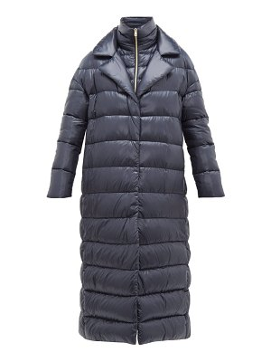 Herno longline ultralight double layer quilted coat