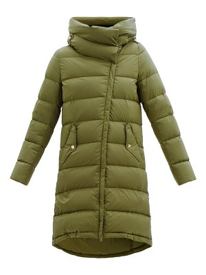 Herno nuage funnel-neck quilted down hooded coat