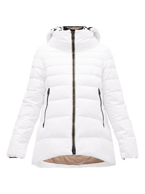 Herno padded shell down hooded jacket