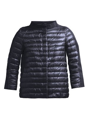Herno Panelled Quilted Down Jacket