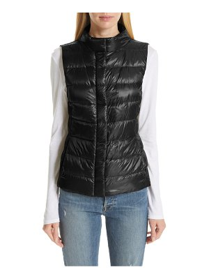 Herno short quilted down vest