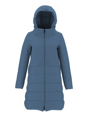 Herno Wool-Blend Down-Fill Hooded Coat