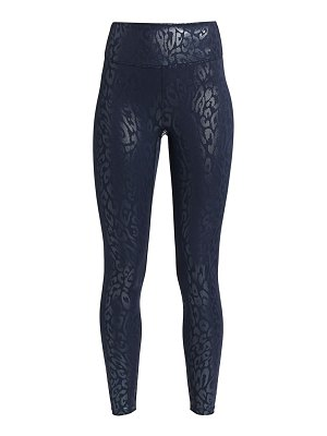 Heroine Sport high-waist metallic cheetah print leggings