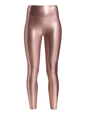 Heroine Sport marvel high-waist metallic leggings