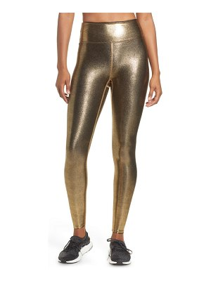 Heroine Sport metallic high waist leggings