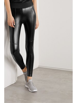 Heroine Sport performance faux leather leggings