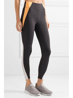 Heroine Sport tread mesh-paneled stretch leggings