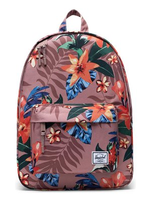 Herschel Supply Co. classic summer floral mid volume backpack
