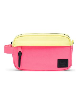 Herschel Supply Co. neon chapter carry-on dopp kit