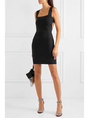 Herve Leger cutout bandage mini dress