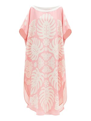 Hester Bly the taula butterfly-print silk tunic dress
