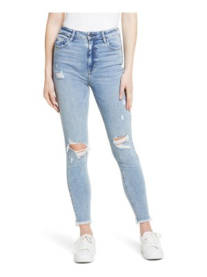 Hidden Jeans distressed high waist ankle skinny jeans