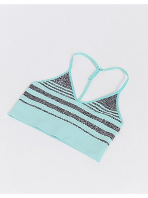 HIIT seamless bra in mint ombre-green