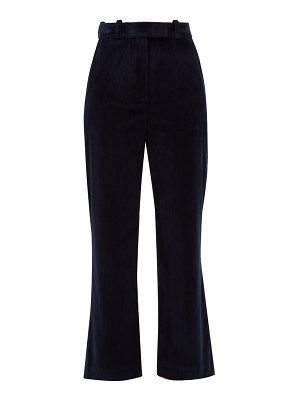 HILLIER BARTLEY flared cotton-corduroy trousers
