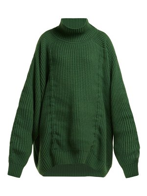 HILLIER BARTLEY oversized gathered cashmere sweater