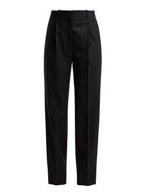 HILLIER BARTLEY pinstriped wool trousers