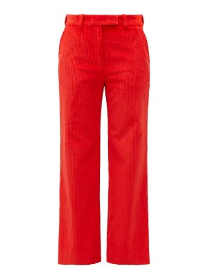 HILLIER BARTLEY straight-leg corduroy trousers