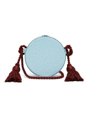 HILLIER BARTLEY Tassel Embellished Leather Cross Body Bag