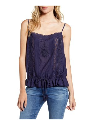 Hinge woven embroidered camisole