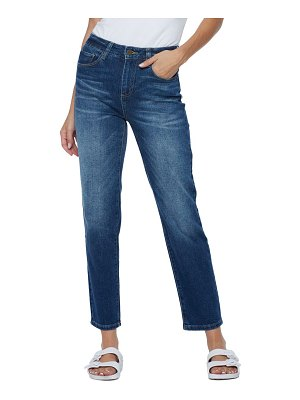 HINT OF BLU e clever slim straight leg jeans