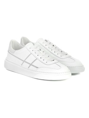 hogan h365 bowling leather sneakers
