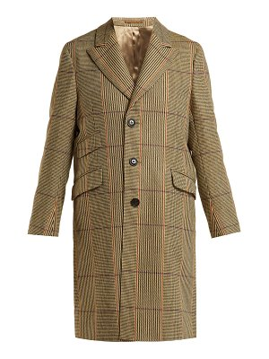 HOLIDAY BOILEAU checked wool coat