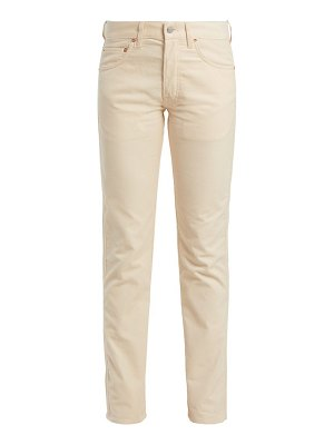 HOLIDAY BOILEAU slim-fit cotton-corduroy trousers