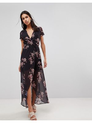 Hope and Ivy Hope & Ivy Floral Maxi Dress