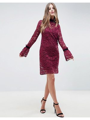 Hope and Ivy Hope & Ivy Shift Lace Dress