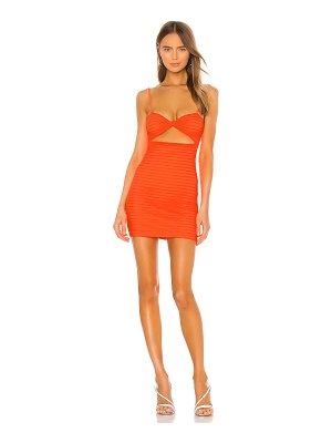h:ours shelly mini dress