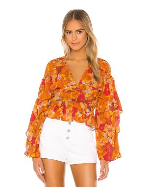 House of Harlow 1960 x revolve makana blouse