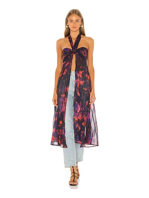 House of Harlow 1960 x revolve tammy maxi top