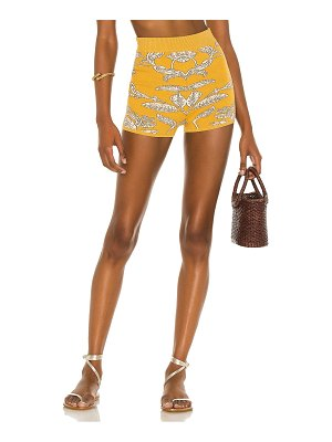 House of Harlow 1960 x sofia richie prue knit shorts