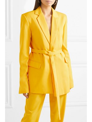 HOUSE OF HOLLAND belted twill blazer