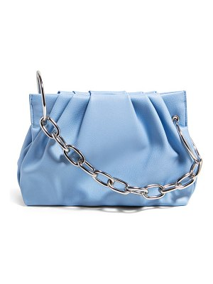 House of Want chill vegan leather frame clutch