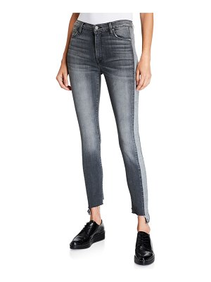 Hudson Barbara Cropped High-Rise Skinny