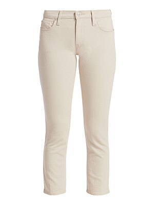 Hudson barbara high-rise cropped skinny jeans