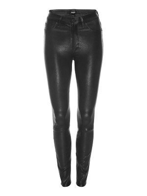 Hudson barbara high-rise super skinny leather pants