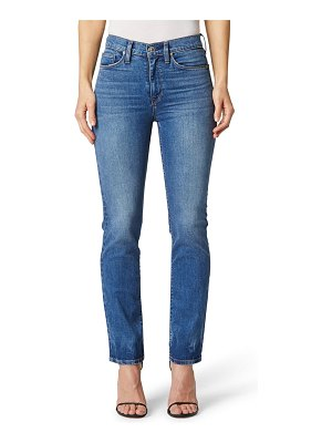 Hudson barbara high waist crop straight leg jeans