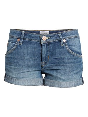 Hudson cuff denim shorts