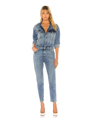 Hudson fitted long sleeve jumpsuit