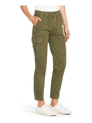 Hudson High-Rise Straight-Leg Cargo Pants
