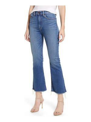 Hudson holly barefoot crop flare jeans