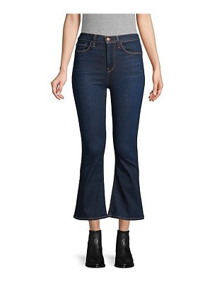 Hudson holly high-rise crop flare jeans